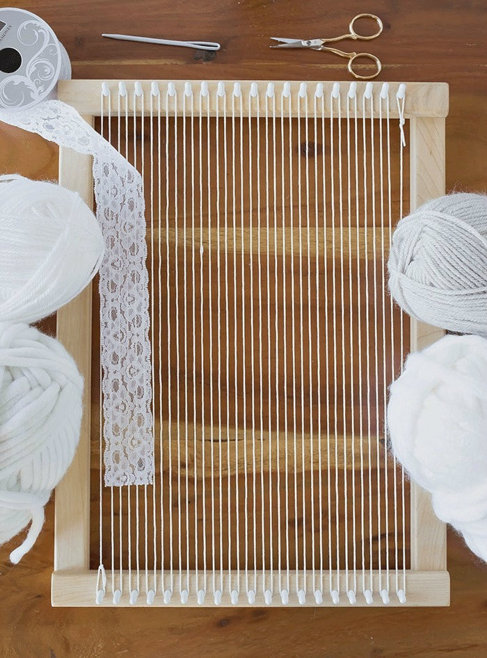 Materials Needed - 5 Ways To Add Texture To Your Weaving