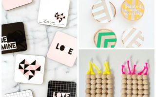Friday Faves: 15 Modern Coaster Crafts