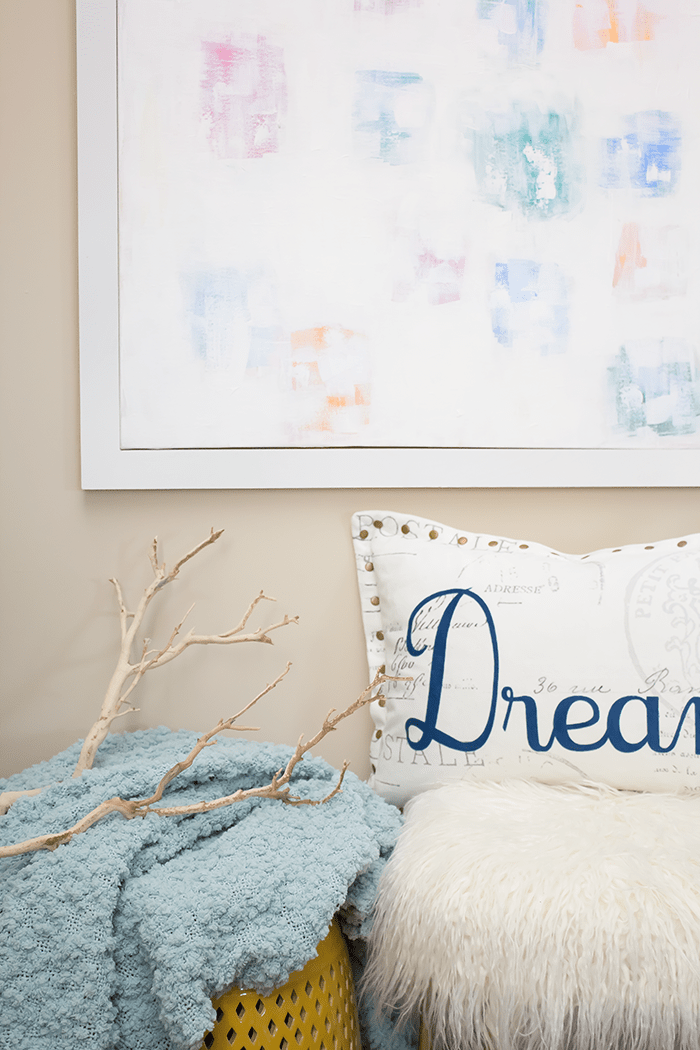 You don't need to pay top dollar to frame your DIY art. In this step-by-step tutorial, you will learn how to build your own wood frame for your canvas art.