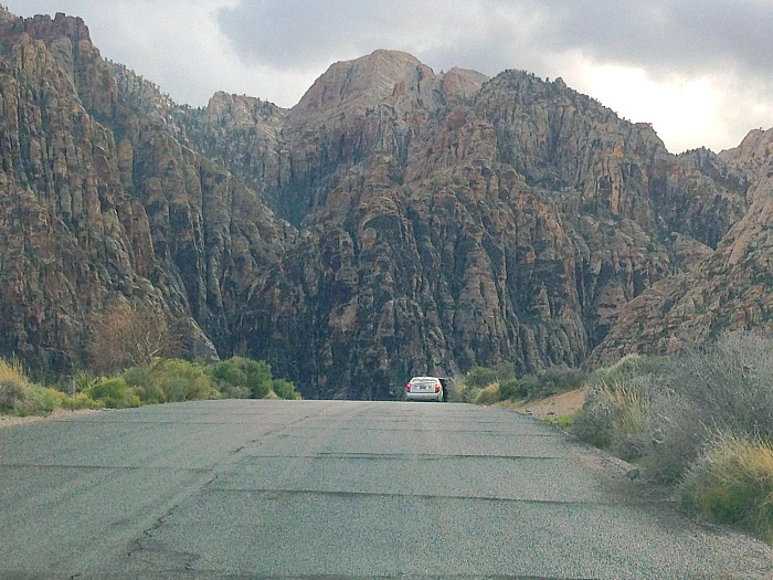 Taking the Scenic Route - Red Rock Canyon