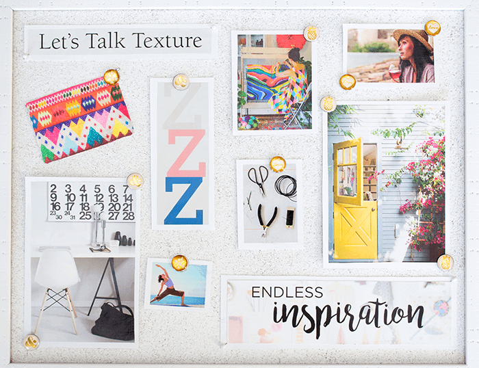 How To Make a Vision Board / via aprettyfix.com