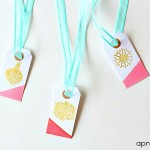 DIY Juice Dipped Gift Tags