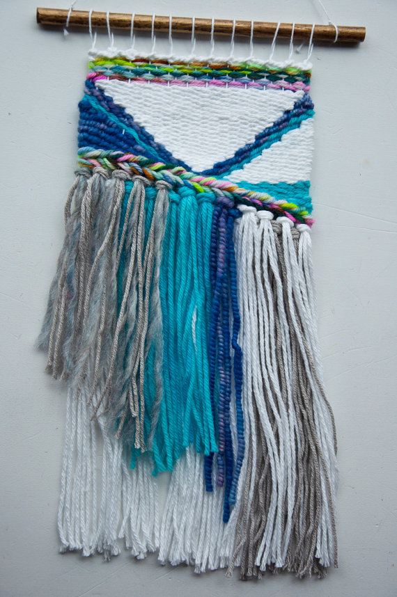 Kate, the Weaving Loom - Woven Wall Hanging