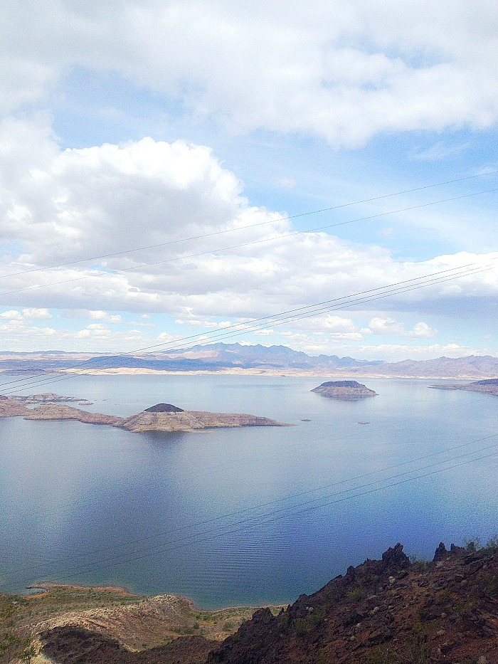 Lake Mead - Vertical View.