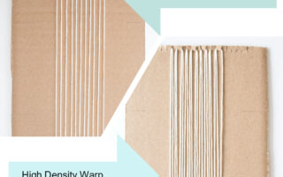 Weaving Tips:  Low Density Vs High Density Warping