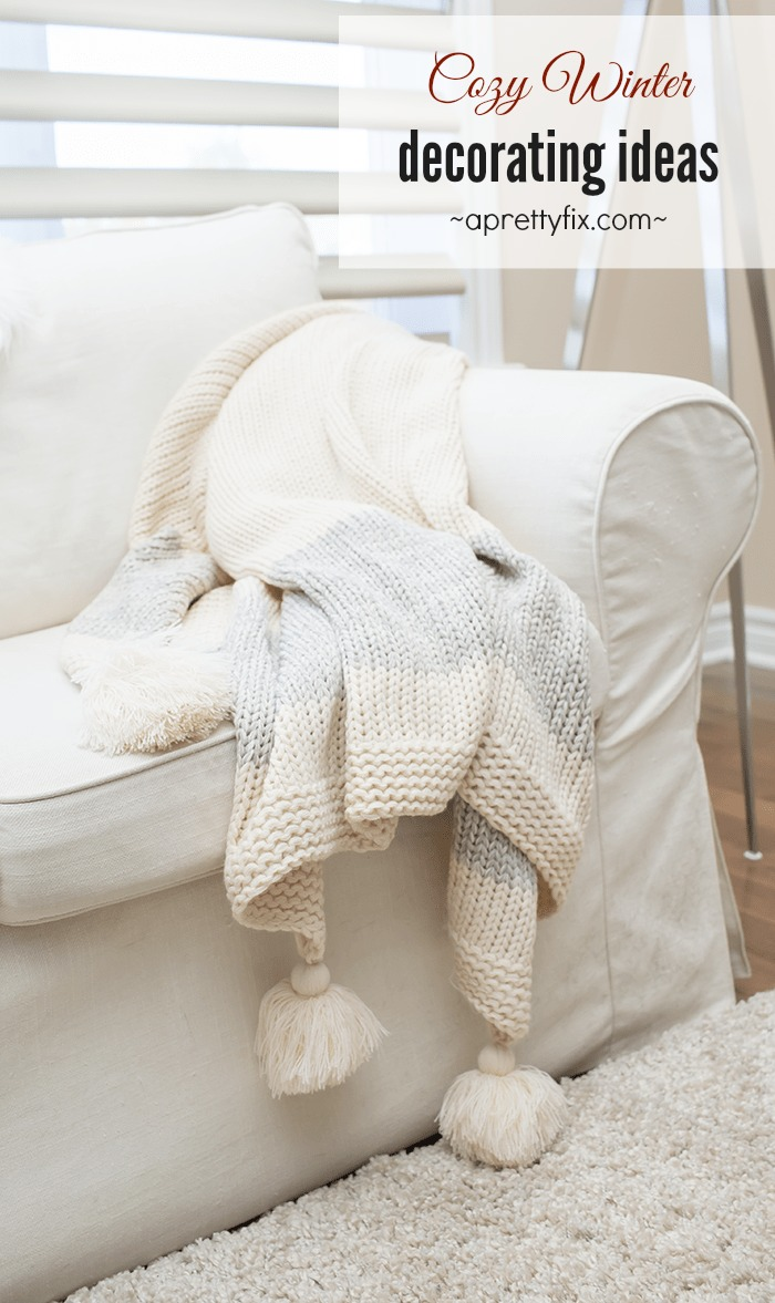 Once the Christmas decorations have been put away, our homes can look barren and 'cold.' But with these cozy winter decorating ideas, take your home from flat to warm and cozy. Get inspired to get through this winter with these simple tips to warm up your winter decor.