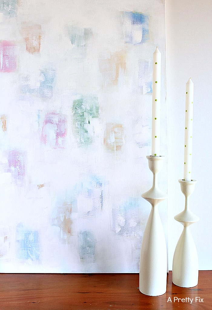 How To Create Whitewash Abstract Art