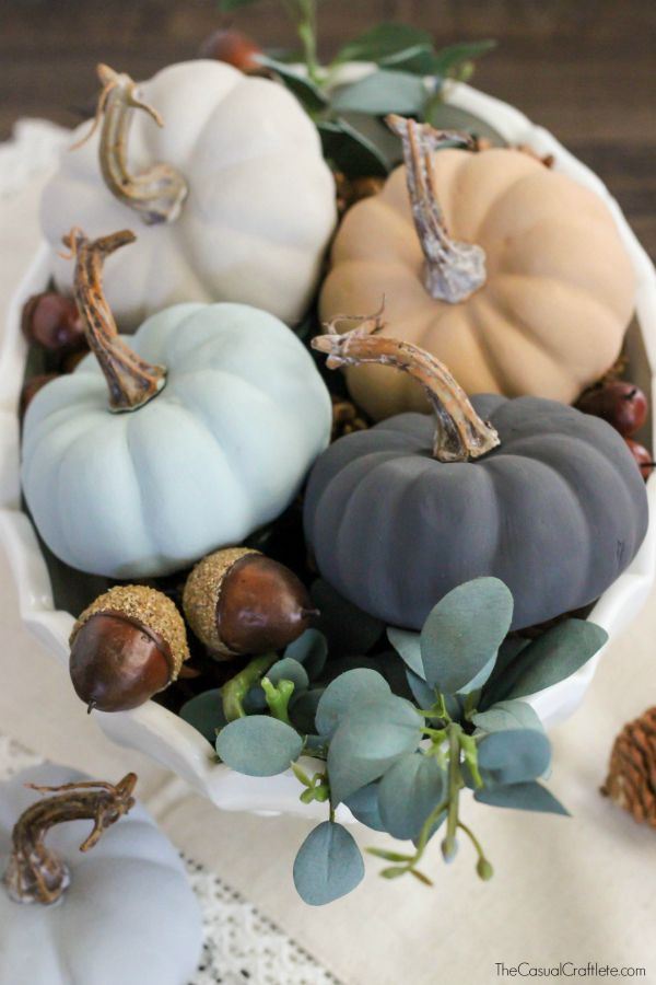 vintage-chalky-finish-paint-pumpkins-beautiful-neutral-colors-for-fall