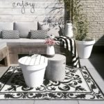Black and White Outdoor Space.