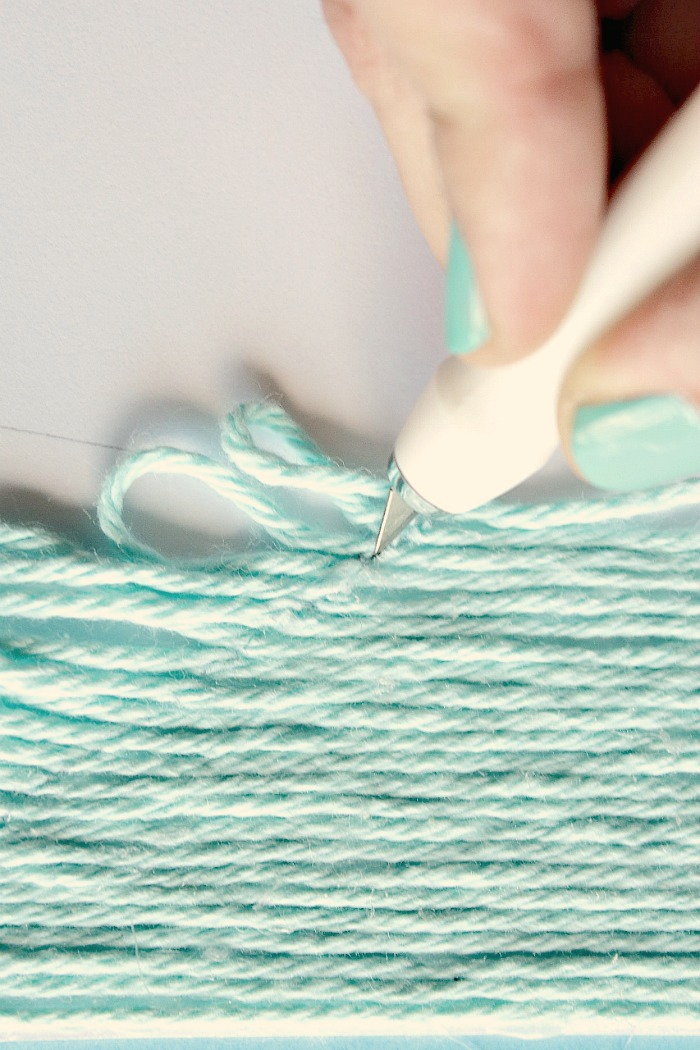 crafter's knife to cut yarn - one option