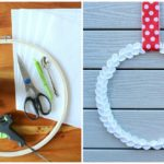 How To Make A Festive Felt Boxwood Wreath