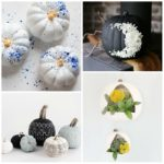 12 Fresh and Modern Ways To Decorate Pumpkins