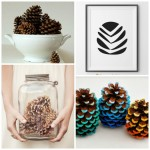 Simple, Modern Pinecone Décor Ideas