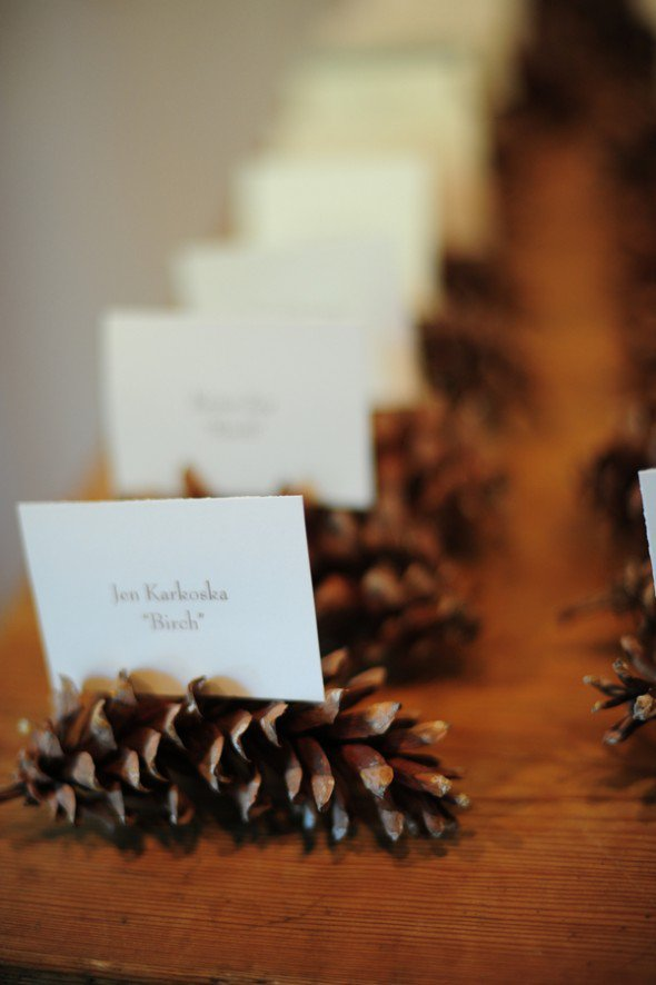 pinecone-place-card-holder