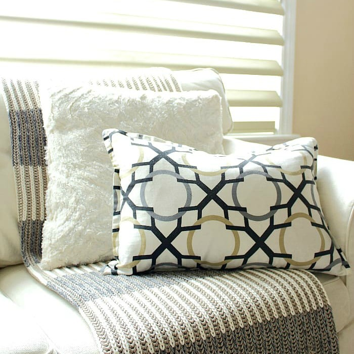 3 steps to styling a sofa