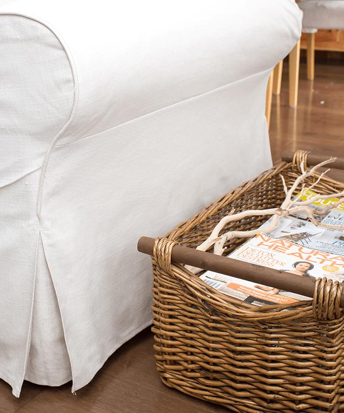 6 ways to add extra storage - baskets
