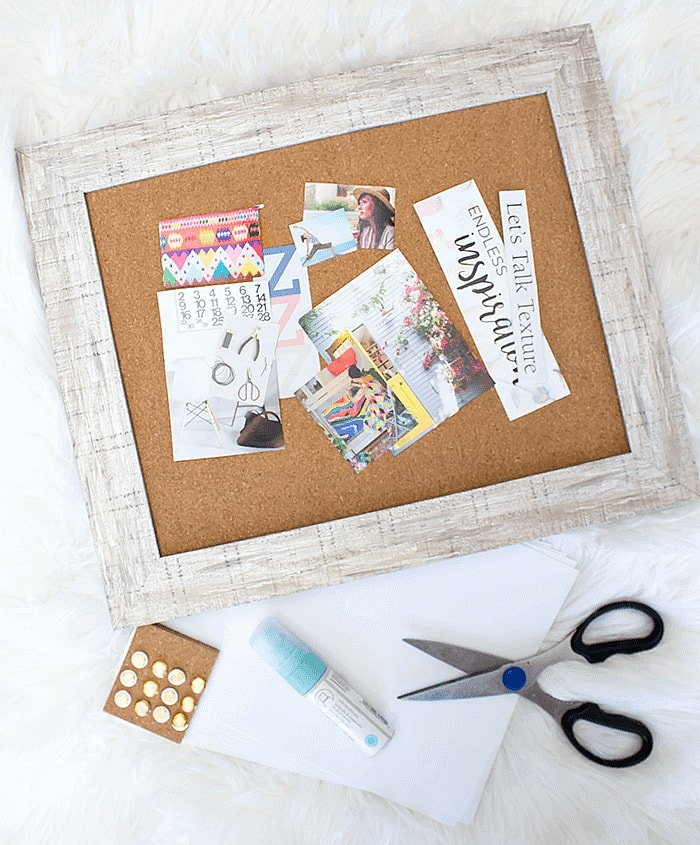 How To Make a Vision Board - materials you will need.