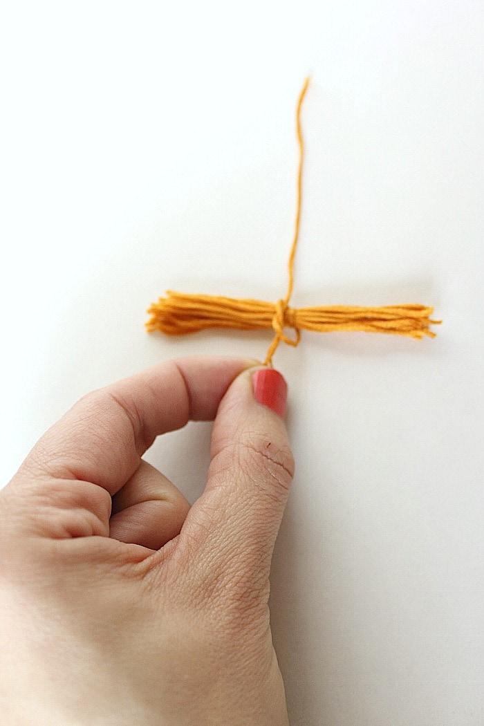 tie second knot