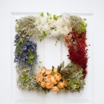 Pretty Vintage DIY Floral Wreath