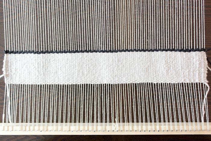 DIY Woven Pillow