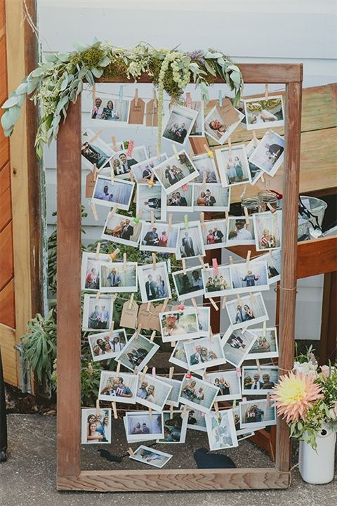 Framed Floral Display // Fab Mood