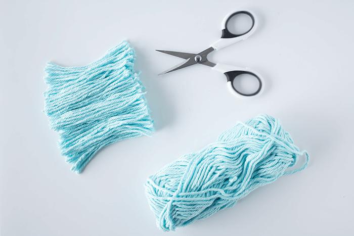 3-inch yarn bundle - 3 mini weavings.