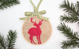 2016 Ornament Exchange and Blog Hop
