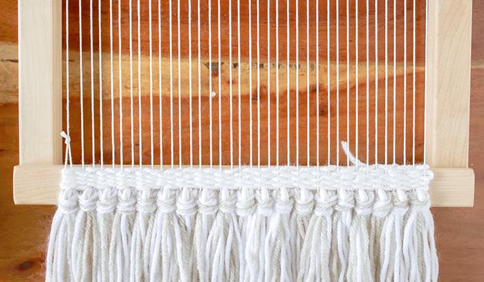 Plain Weaving Technique
