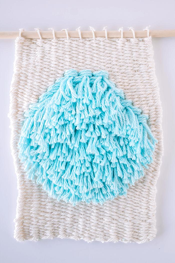 Bulge in the middle - 3 mini weavings.