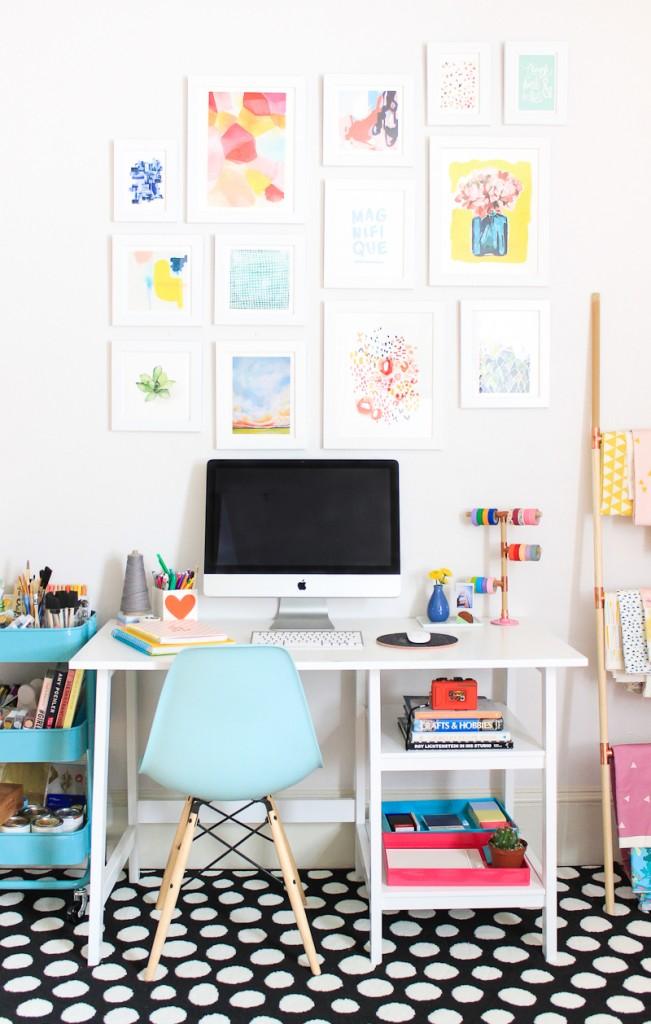 Craft Corner Dreams - cheerful pops of colour