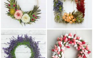 20 Beautiful Spring Wreath Ideas