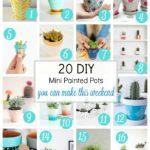 Friday Faves: 20 DIY Mini Painted Pots