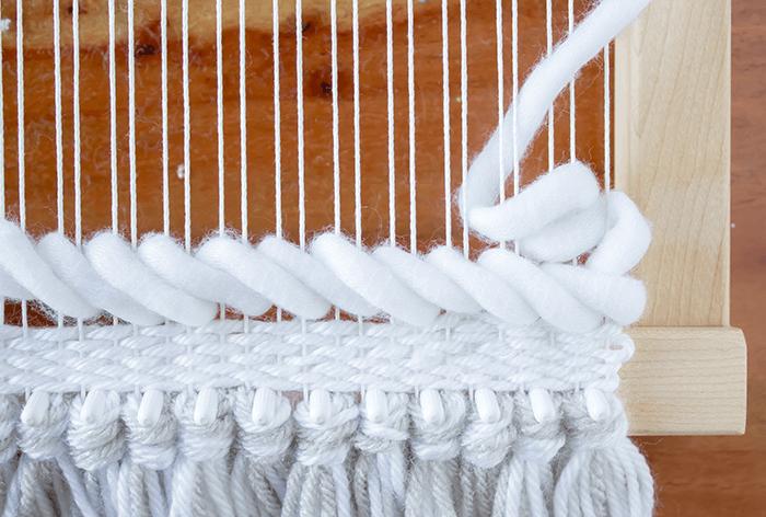 Weaving Techniques/Adding Texture: Soumak