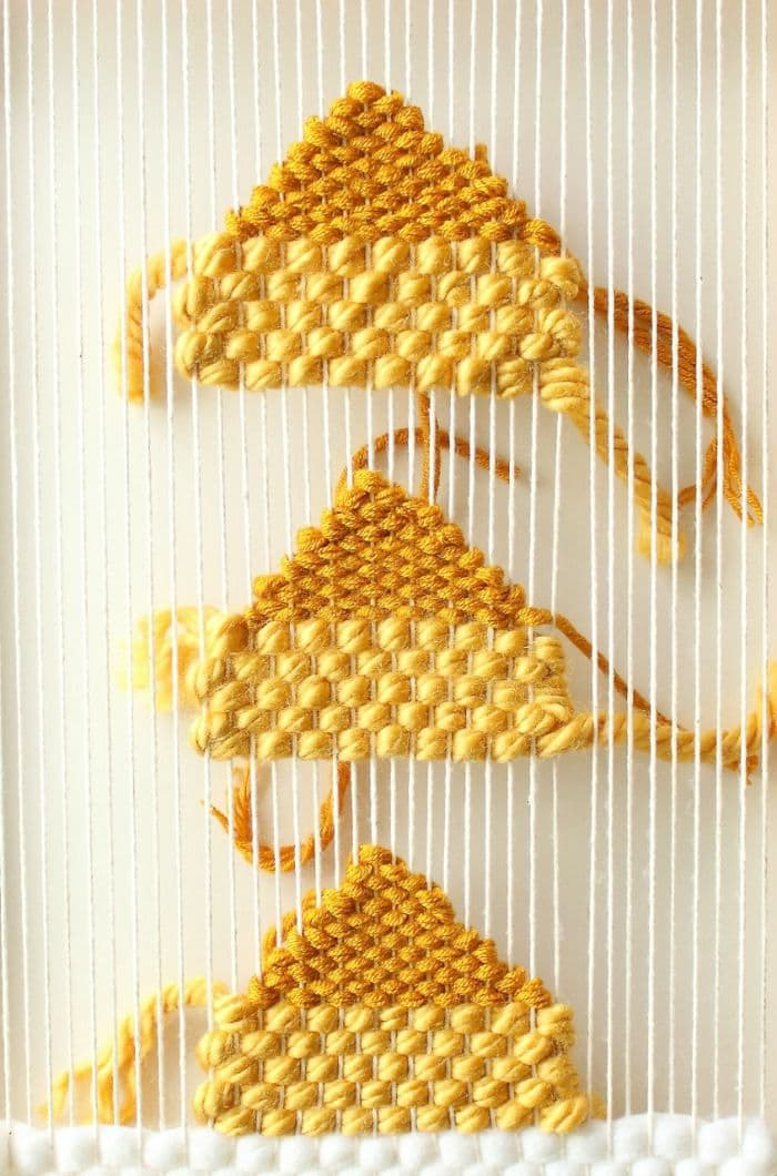 Learn the art of wall weaving in this basic introduction to materials, terms used, and how to create your own one-of-a-kind wall weaving for your home. A beautiful alternative to traditional wall art.
