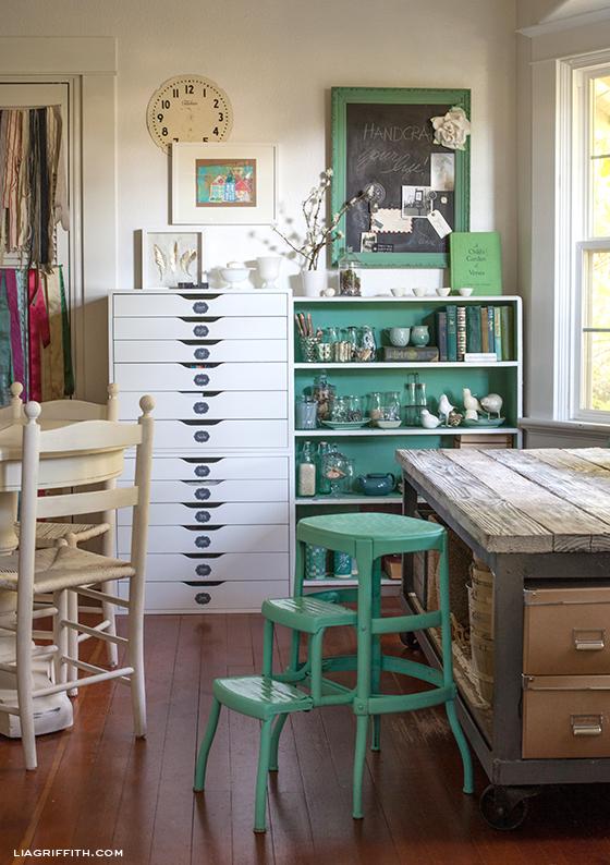 Craft Corner Dreams - eclectic vintage
