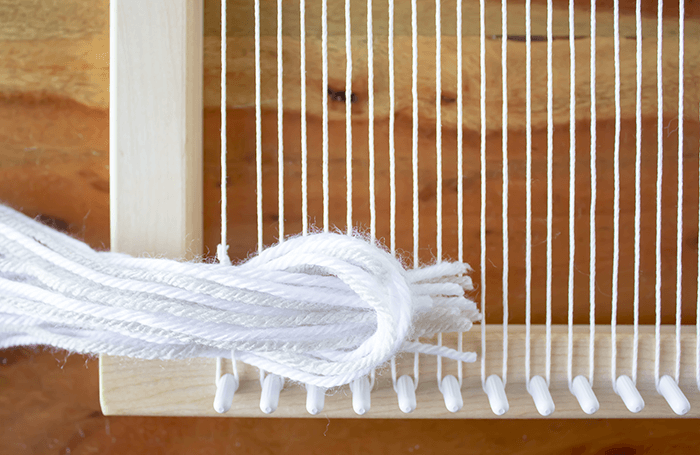Weaving Techniques/Adding Texture: Add Fringe