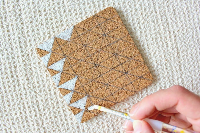 how to clean your cork coasters