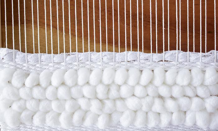 Weaving Techniques/Adding Texture: Use Lace