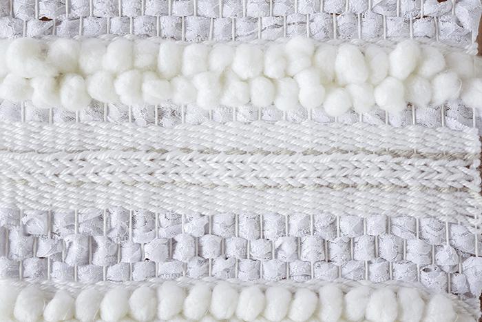 Weaving Techniques/Adding Texture: Weaving in Progress