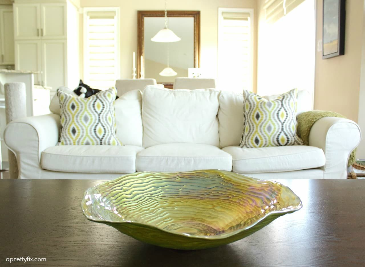 Coffee table decorative bowls roselawnlutheran coffee table decorating 5 ways aprettyfix geotapseo Gallery