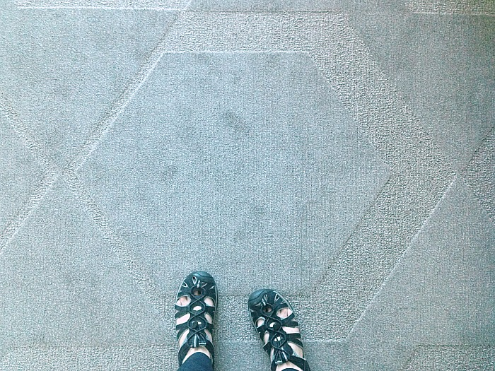 Las Vegas - geometric carpet design