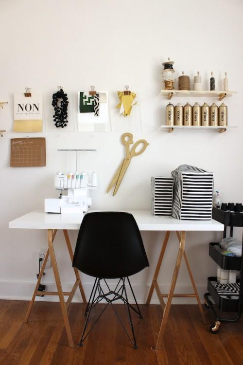 Craft Corner Dreams - Black and Gold