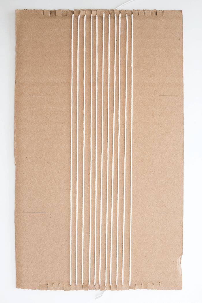 High Vs Low Density Weaving - Low Density Warp Complete