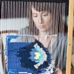 An Interview with Fiber Artist Kate from the 'The Weaving Loom,' the go-to blog for beginner and intermediate weavers.