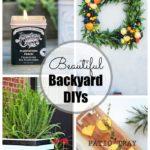 Friday Faves:  Beautiful Backyard DIYs