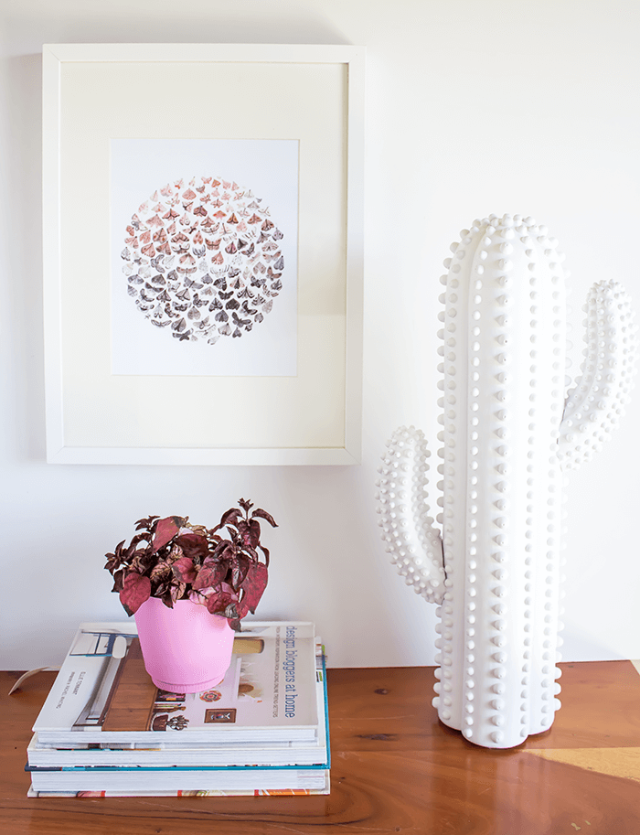 Cactus Sculpture // Embracing the Weird (and Wonderful) in Home Decor.