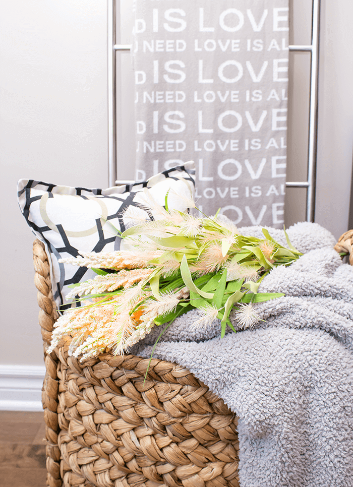 5 Simple & Creative Ways To Integrate Flowers In Your Home - Casually Laid Out On a Basket