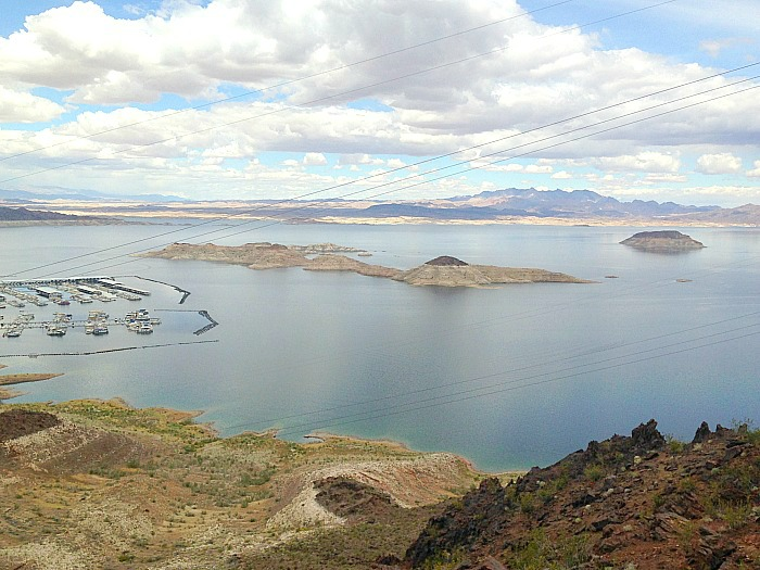 Lake Mead - wide view.