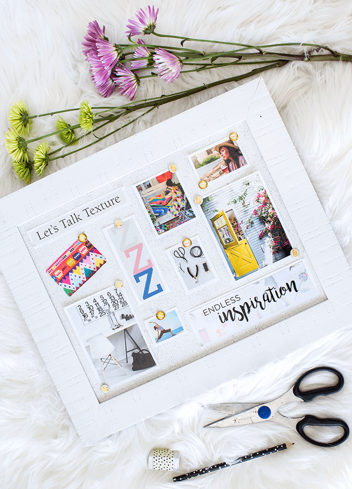 A Vision Board is a visual tool that represents your dreams and it can be a powerful means of motivating you to take achieve them. Get ready to create your own Vision Board in 5 Easy Steps. (via aprettyfix.com)