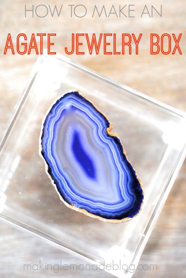 agate jewelry box